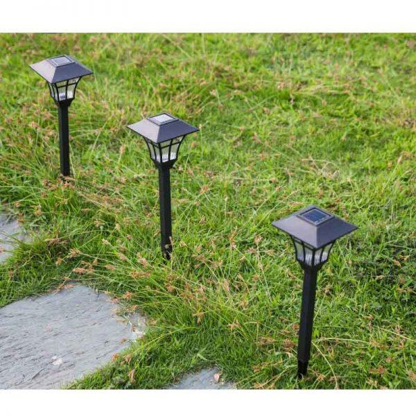 Balise LED solaire extérieur étanche