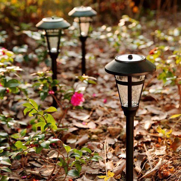 Balise solaire à piquer jardin