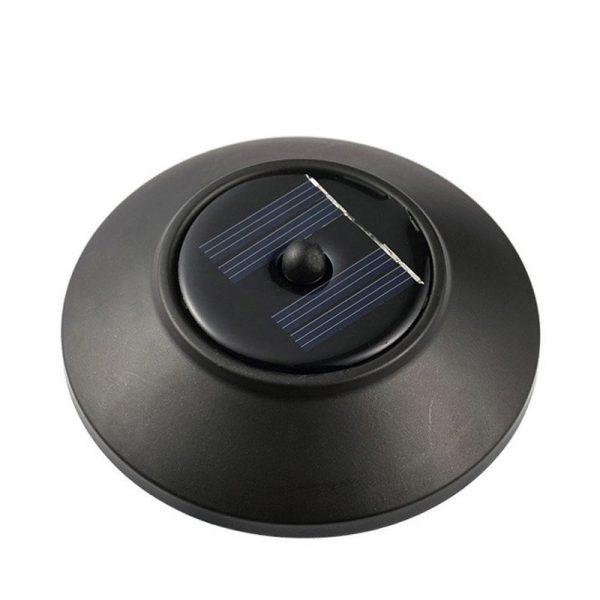 Balise solaire à piquer panneau solaire