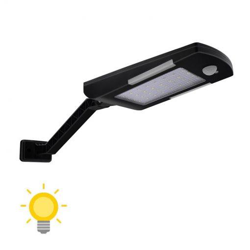 Éclairage extérieur solaire détecteur de mouvement