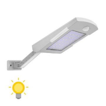 Éclairage extérieur solaire détecteur de mouvement blanche