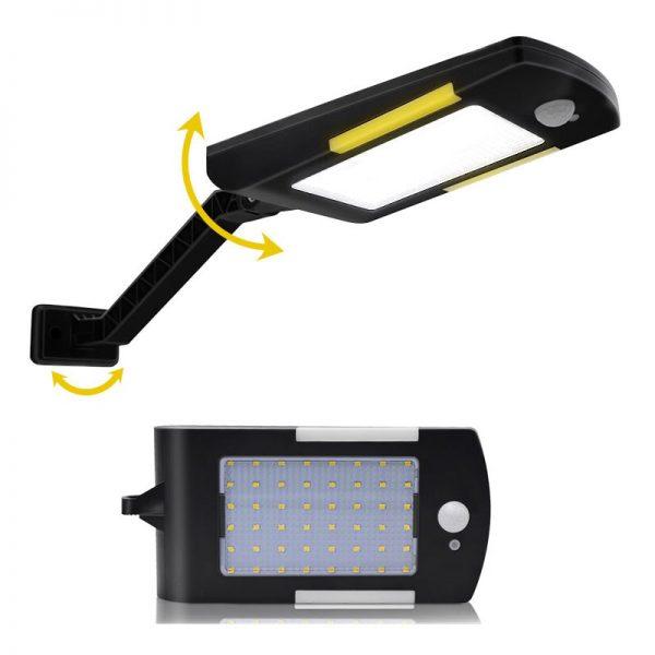 éclairage extérieur solaire détecteur de mouvement pas cher