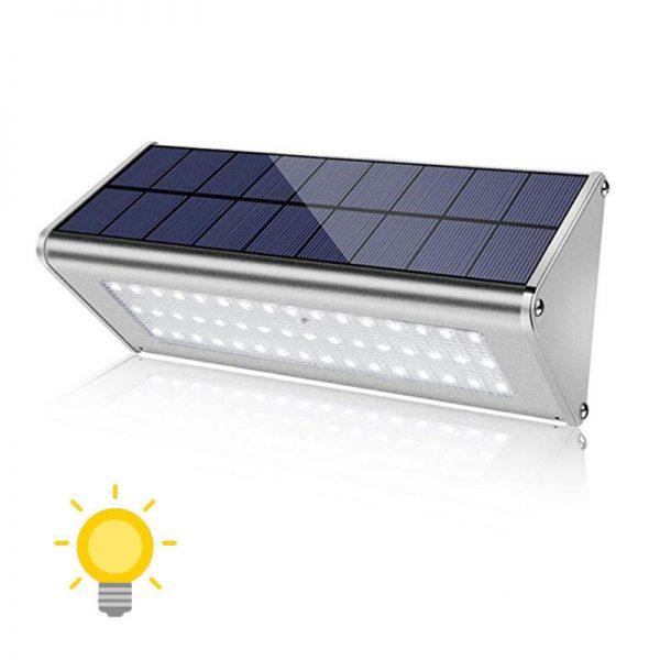 Éclairage extérieur solaire pour terrasse