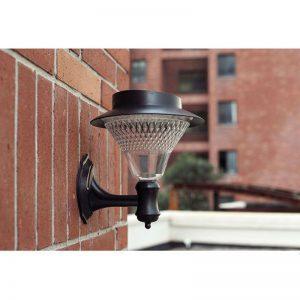 lampadaire solaire pour terrasse étanche