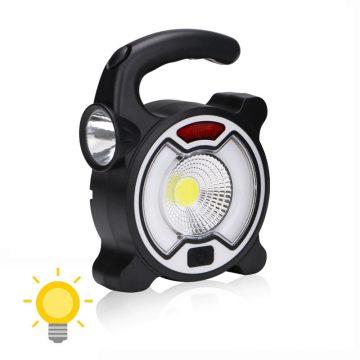 Lampe de camping rechargeable solaire