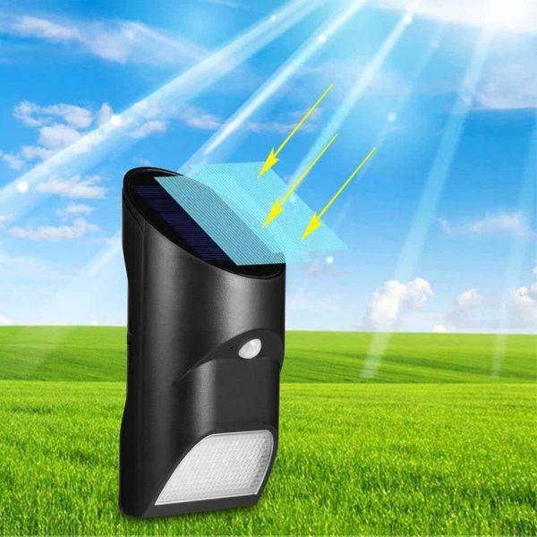 lampe solaire allumage automatique puissante