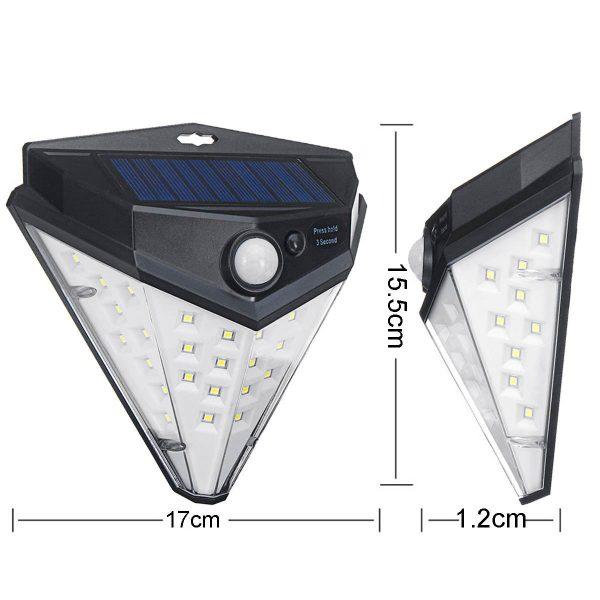 lampe solaire autonome extérieur