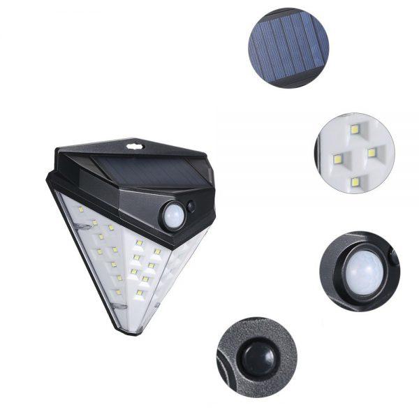 lampe solaire autonome jardin