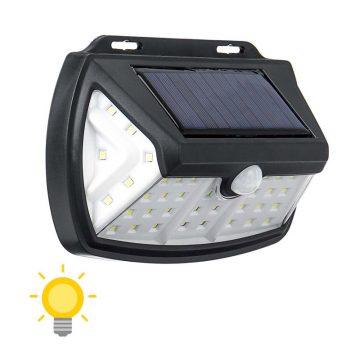 Lampe solaire extérieur avec capteur de mouvement