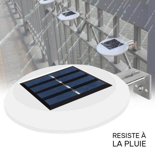 lampe solaire barrière étanche