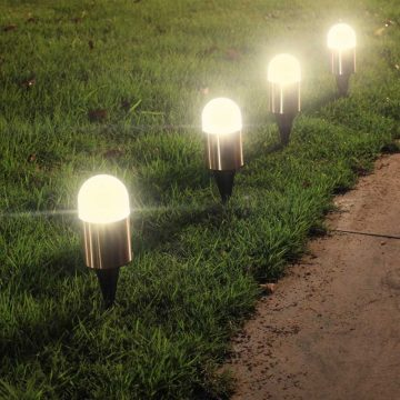 lampe solaire déco jardin pas cher