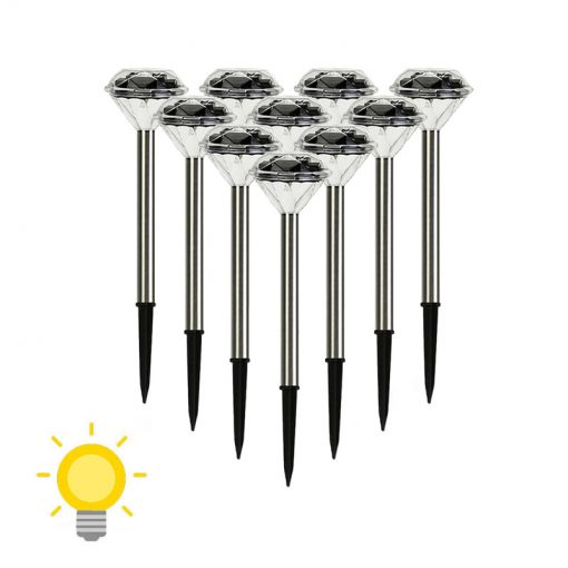 lampe solaire décoration a planter
