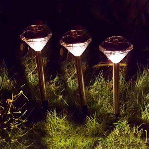 lampe solaire décoration a planter extérieur