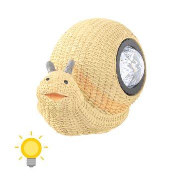 Lampe solaire escargot