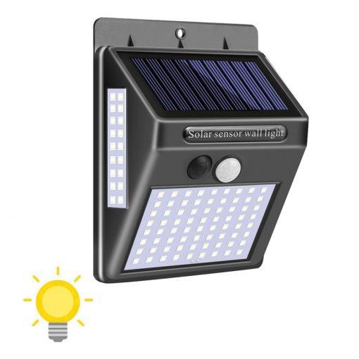Lampe solaire extérieur 100 LED