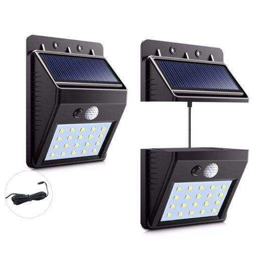 lampe solaire extérieur avec fil