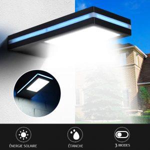 Lampe solaire extérieur haut de gamme design