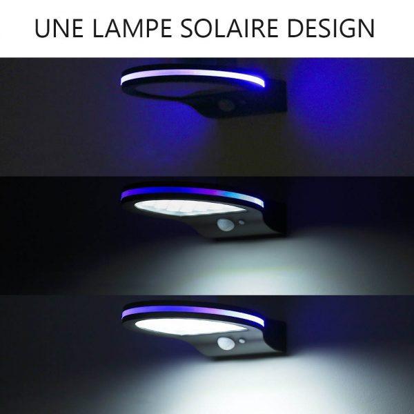 Lampe solaire extérieur originale éclairage