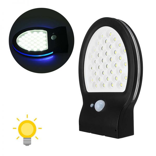 Lampe solaire extérieur originale