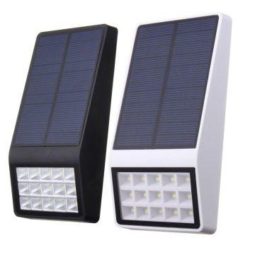 Lampe solaire extérieur plate pas cher