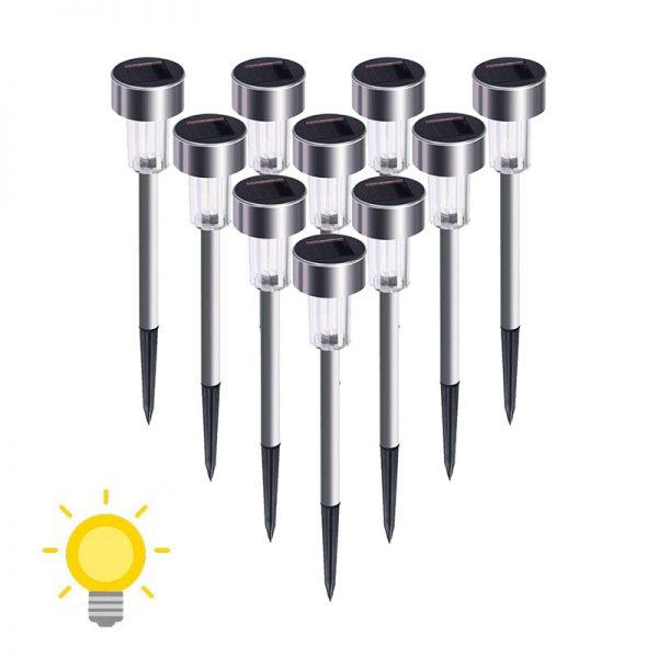 Lampe solaire extérieur pour allée