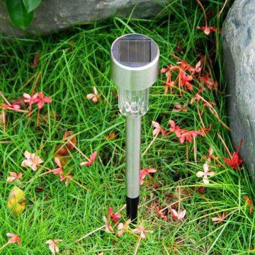 Lampe solaire extérieur pour allée etanche