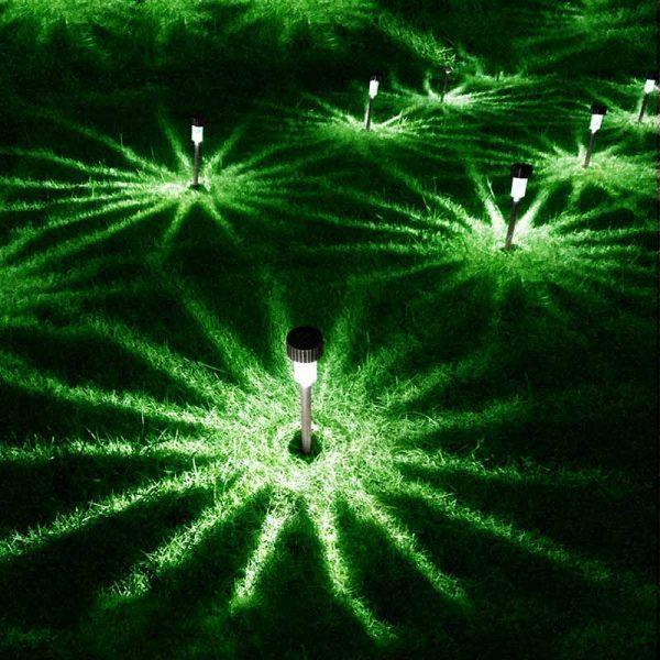 Lampe solaire extérieur pour allée jardin
