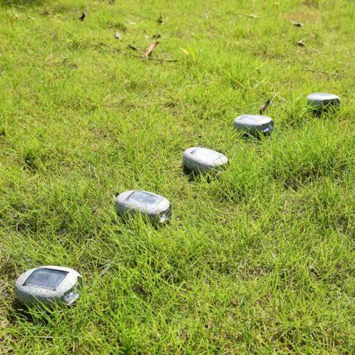 avantage éclairage solaire : sans fil