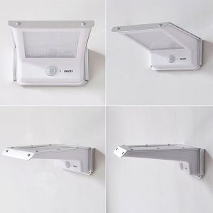 lampe solaire inox exétieur