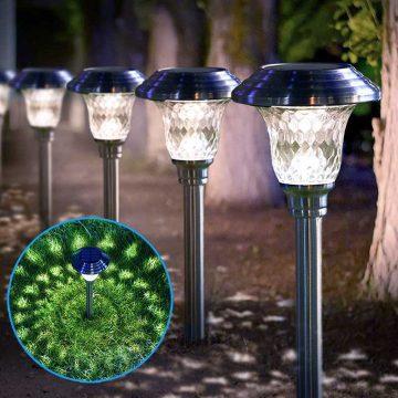 lampe solaire jardin décorative pas cher
