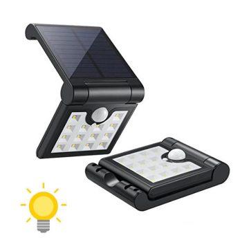 Lampe solaire pliante