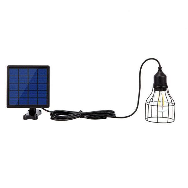 lampe solaire pour cabane de jardin autonome