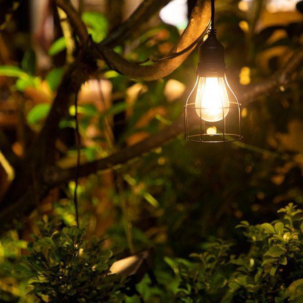 lampe solaire pour cabane de jardin étanche
