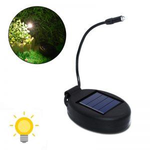 Lampe solaire pour plante