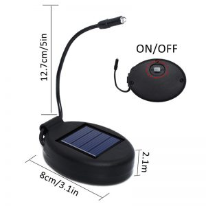 Lampe solaire pour plante étanche