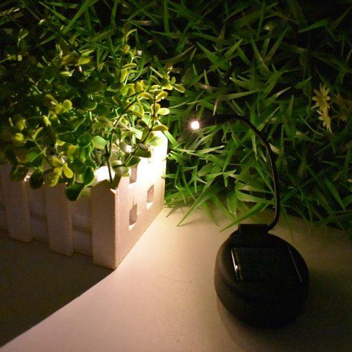 Lampe solaire pour plante led