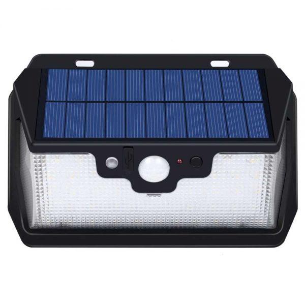 Lampe solaire rechargeable USB étanche
