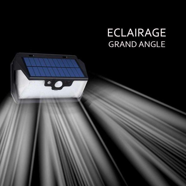 Lampe solaire rechargeable USB puissante