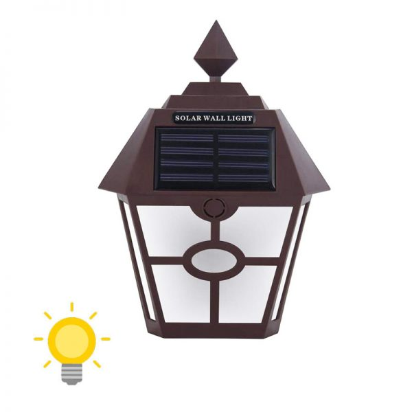 lanterne mural solaire