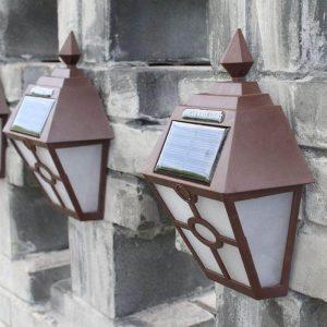 lanterne murale solaire pas cher