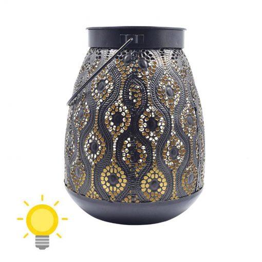 Lanterne solaire de jardin à suspendre