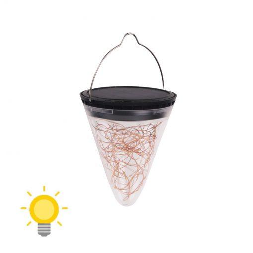 Lanterne solaire jardin LED