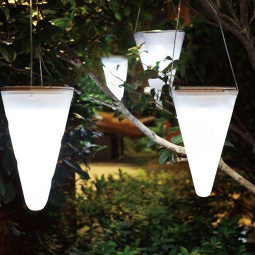 lanterne solaire pour arbre étanche