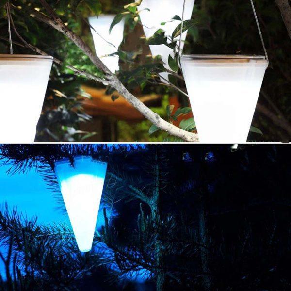 lanterne solaire pour arbre led