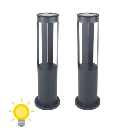 luminaire solaire terrasse