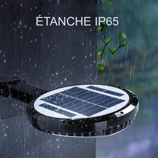 Projecteur solaire à LED sans fil étanche
