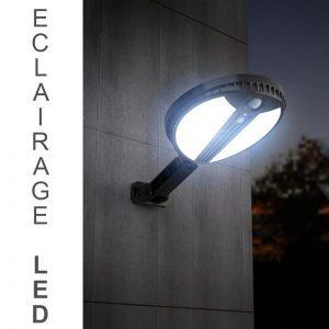 Projecteur solaire à LED sans fil extérieur