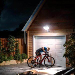 Projecteur solaire à LED sans fil puissante