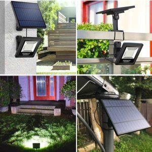 projecteur solaire déporté puissant