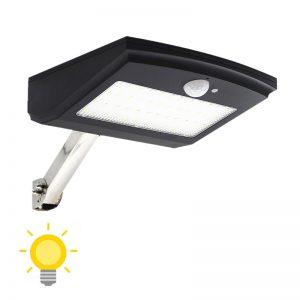 Projecteur solaire extérieur avec télécommande